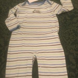 NWT gymboree airplane outfit longalls 3-6 m romper